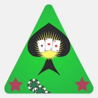 Sticker Triangulaire 64Casino Logo_rasterized
