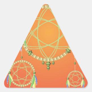 Sticker Triangulaire 74Dream Catcher_rasterized