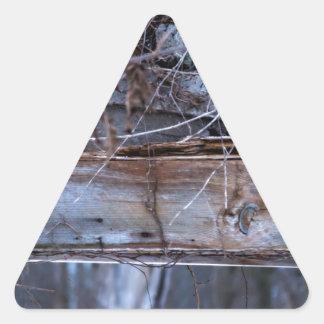 Sticker Triangulaire Abandonné