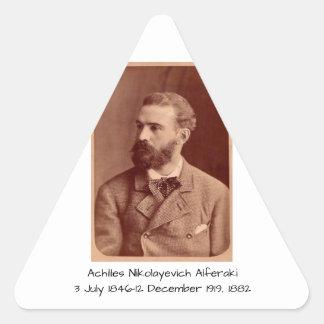 Sticker Triangulaire Achille Nikolayevich Alferaki