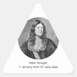 Sticker Triangulaire Adam Krieger