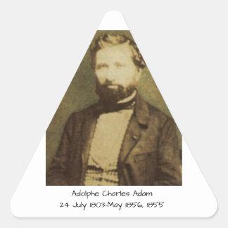Sticker Triangulaire Adolphe Charles Adam, 1855