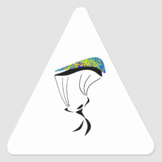 Sticker Triangulaire Aérodynamique