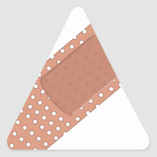 Sticker Triangulaire Aide de bande