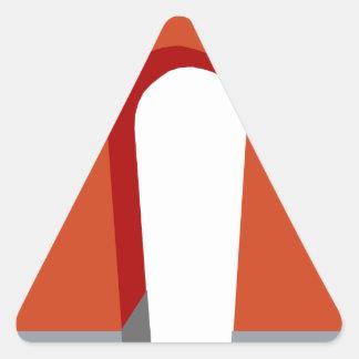 Sticker Triangulaire Aimant en fer à cheval