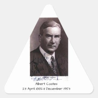 Sticker Triangulaire Albert Coates