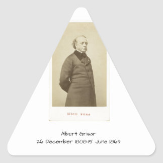 Sticker Triangulaire Albert Grisar