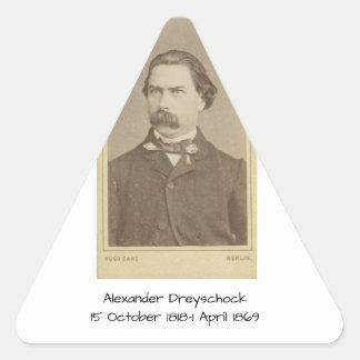Sticker Triangulaire Alexandre Dreyschock
