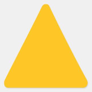 Sticker Triangulaire Ambre