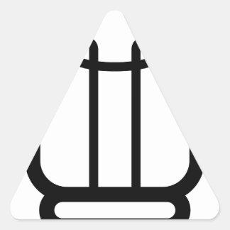 Sticker Triangulaire Ampoule