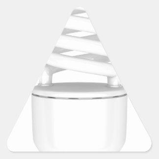 Sticker Triangulaire Ampoule fluorescente