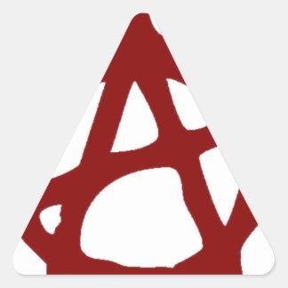 Sticker Triangulaire Anarchie - UNE : Copie