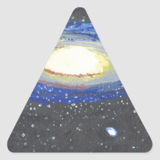 Sticker Triangulaire Andromeda