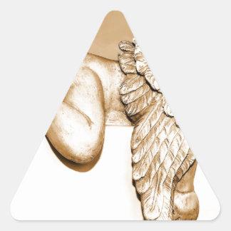Sticker Triangulaire Ange