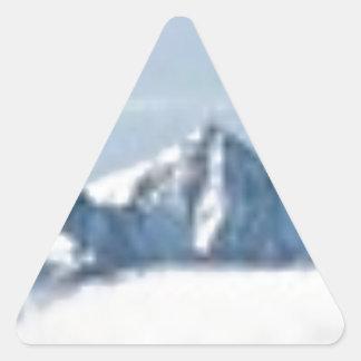 Sticker Triangulaire au-dessus des nuages