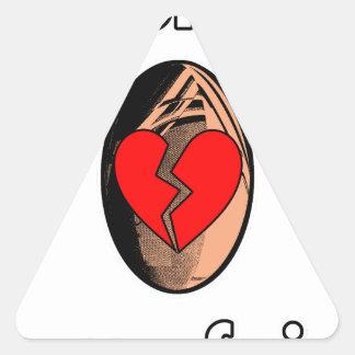 Sticker Triangulaire Au Rugby, j'apprends à me faire plaquer