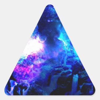Sticker Triangulaire Automnes d'Amorem Amisi Lilannah d'annonce