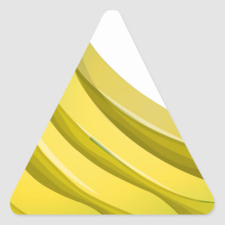 Sticker Triangulaire Bananes