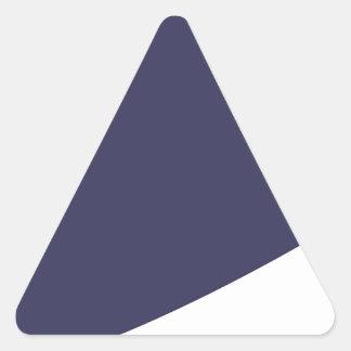Sticker Triangulaire Bande dessinée d'aubergine