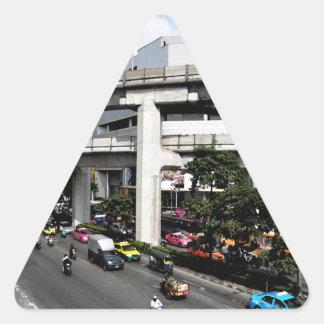 Sticker Triangulaire Bangkok
