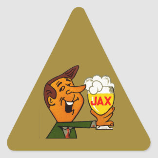 Sticker Triangulaire Bière de Jax
