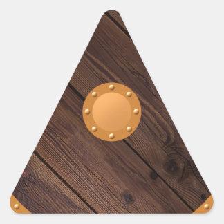 Sticker Triangulaire Bouclier