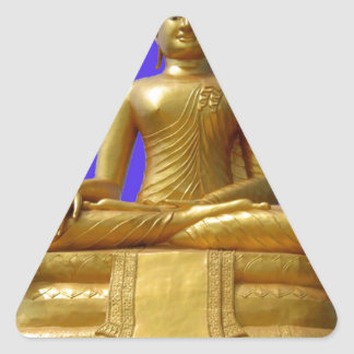 Sticker Triangulaire Bouddha