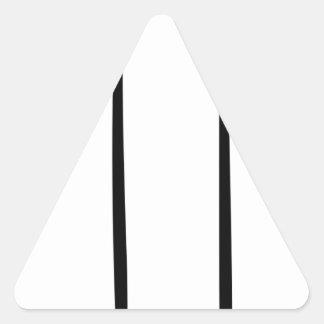 Sticker Triangulaire Bougie de Lit