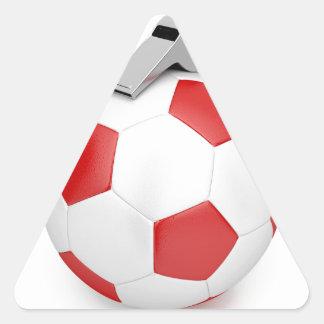 Sticker Triangulaire Boule et sifflement