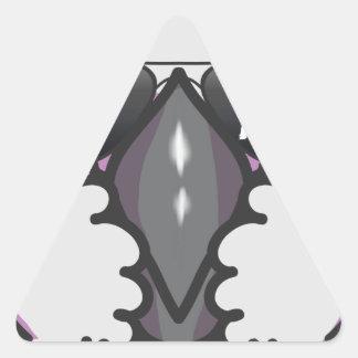 Sticker Triangulaire Cacatoès frais