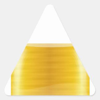 Sticker Triangulaire Cadenas d'or