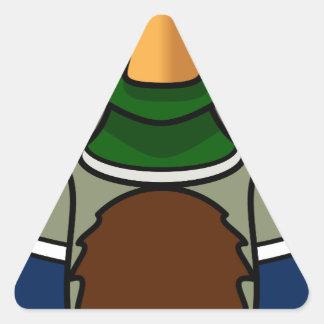 Sticker Triangulaire canard