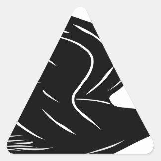 Sticker Triangulaire Canard de vol