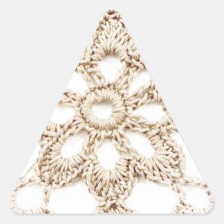 Sticker Triangulaire Carré de grand-maman