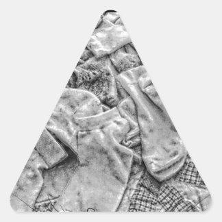Sticker Triangulaire Chaussettes