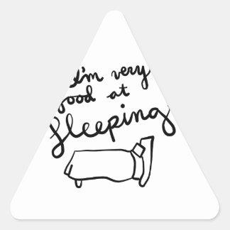 Sticker Triangulaire Chemises de Sleepyhead, accessoires, cadeaux