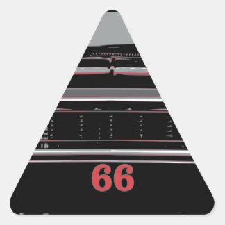 Sticker Triangulaire Chevelle 1966