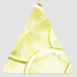 Sticker Triangulaire Citron 2