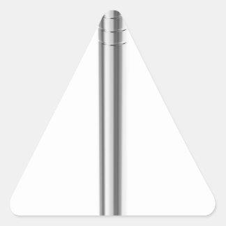 Sticker Triangulaire Clou en acier