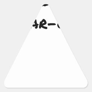 Sticker Triangulaire Cobol (Du Far-West) - Jeux de Mots- Francois Ville