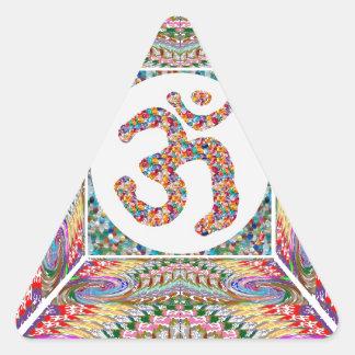 Sticker Triangulaire Collection de bijou d'incantation de l'OM