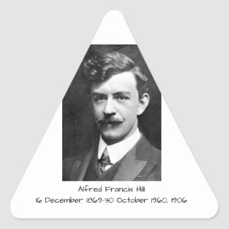 Sticker Triangulaire Colline 1906 d'Alfred Francis