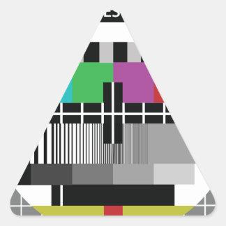 Sticker Triangulaire Common Essai PAL TV