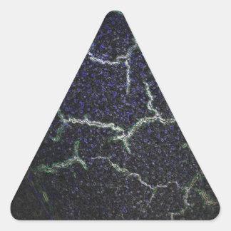 Sticker Triangulaire coquille se brisante