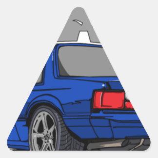 Sticker Triangulaire corps de Fox 5.0L (dos d'entaille). T-shirt