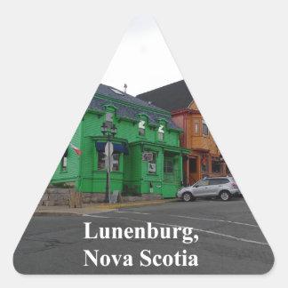 Sticker Triangulaire Couleurs de Lunenburg