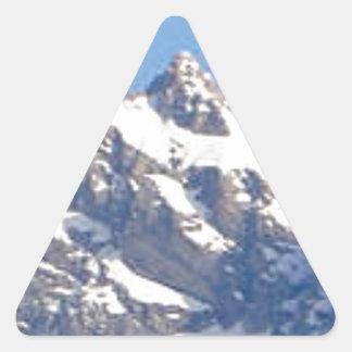 Sticker Triangulaire crête centrale dans la gamme