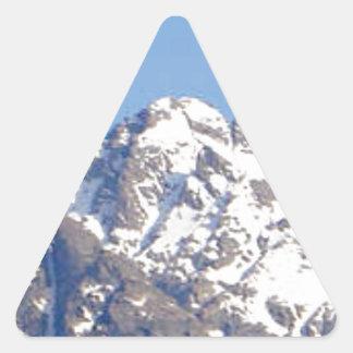 Sticker Triangulaire crête de couvercle rond