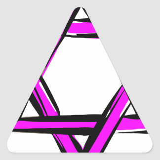 Sticker Triangulaire David