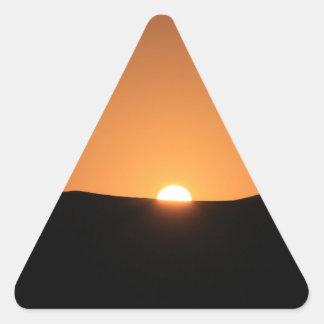 Sticker Triangulaire Désert du Sahara, Maroc